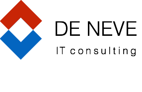 Logo de neve IT consulting - zwart tekst