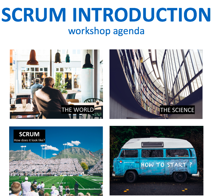 Scrum introduction program